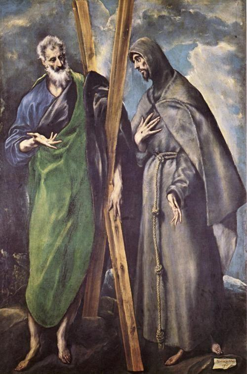 El Greco. St. Andrew and St. Francis.