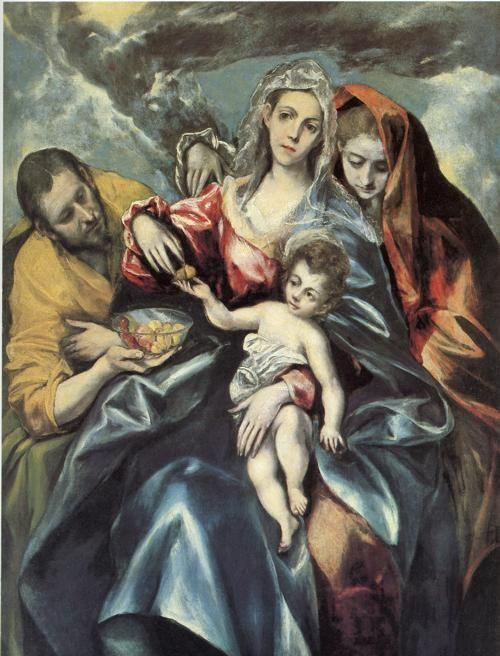 El Greco. Holy Family with Mary Magdalen.