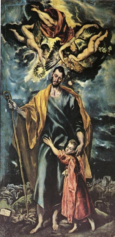 El Greco. St. Joseph and the Christ Child.