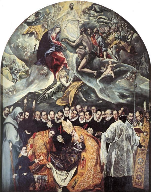 El Greco. The Burial of Count Orgaz.