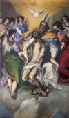 El Greco. The Holy Trinity.