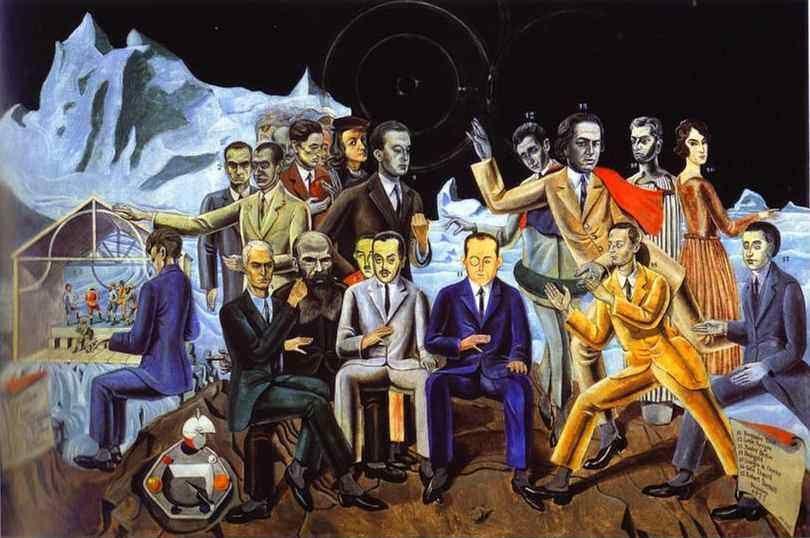 Max Ernst. A Friends' Reunion/Au Rendez-vous des amis.