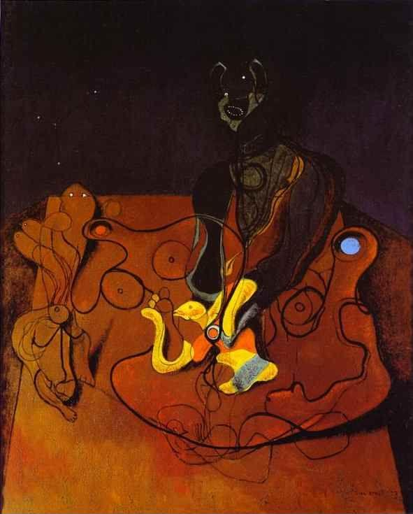 Max ernst a night of love une nuit d 39 amour for Biographie de max ernst
