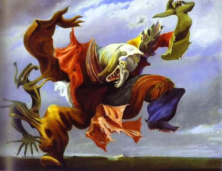 Max Ernst. L'Ange du foyer ou Le Triomphe du surréalisme.
