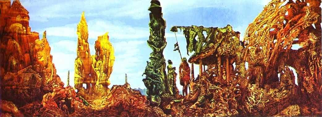 Max ernst europe after the rain ii for Biographie de max ernst