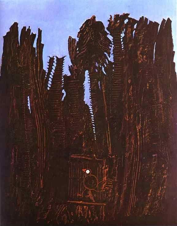 Max Ernst. Forest and Dove.