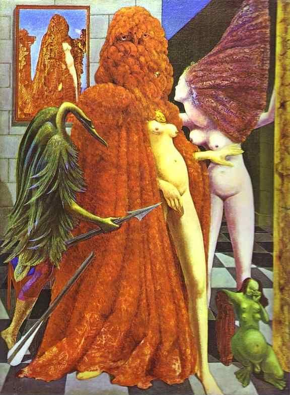 Max Ernst. The Robing of the Bride.