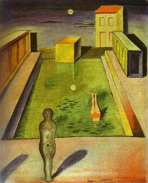 Max Ernst. Aquis submersus.