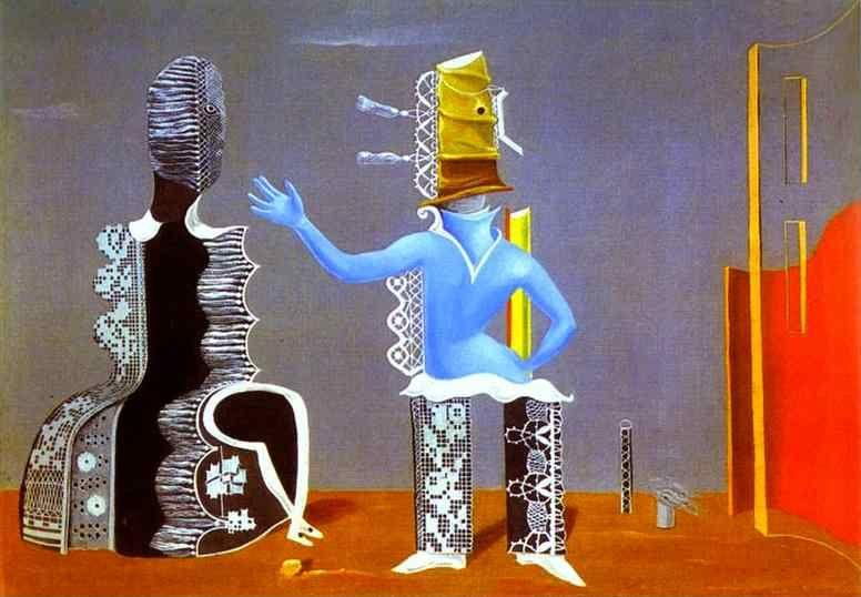 Max ernst the couple or the couple in lace for Biographie de max ernst