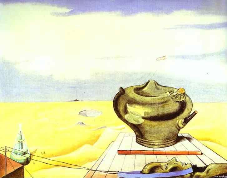 Max Ernst. Seascape.