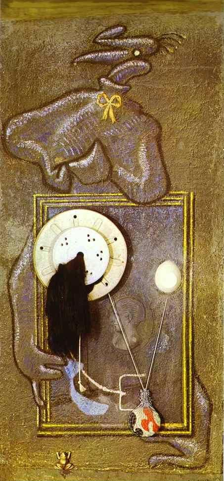Max Ernst. Loplop Introduces a Young Girl.
