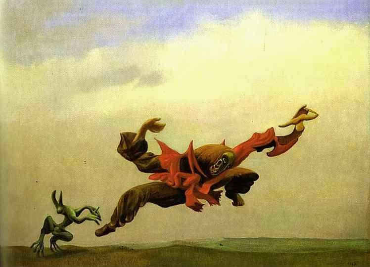 Max Ernst. The Angel of Hearth and Home.