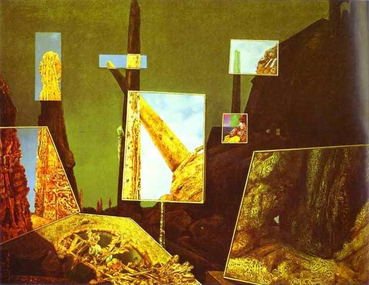 Max ernst day and night for Biographie de max ernst