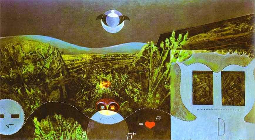Max Ernst. The Phases of the Night.