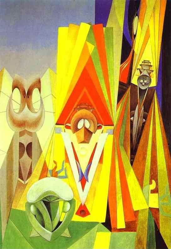 Max Ernst. Feast of the God.
