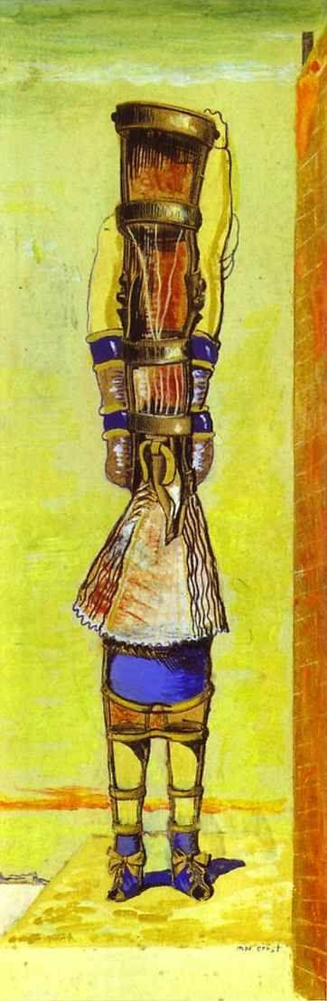 Max Ernst. Young Chimera / Jeune chimère.