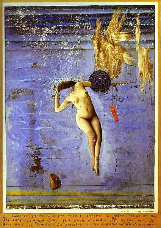 Max ernst approaching puberty or the pleiads la pubert for Biographie de max ernst