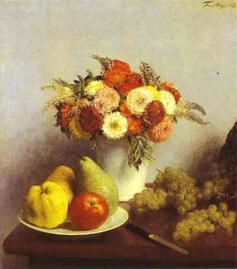 Henri Fantin-Latour. Flowers and Fruit.