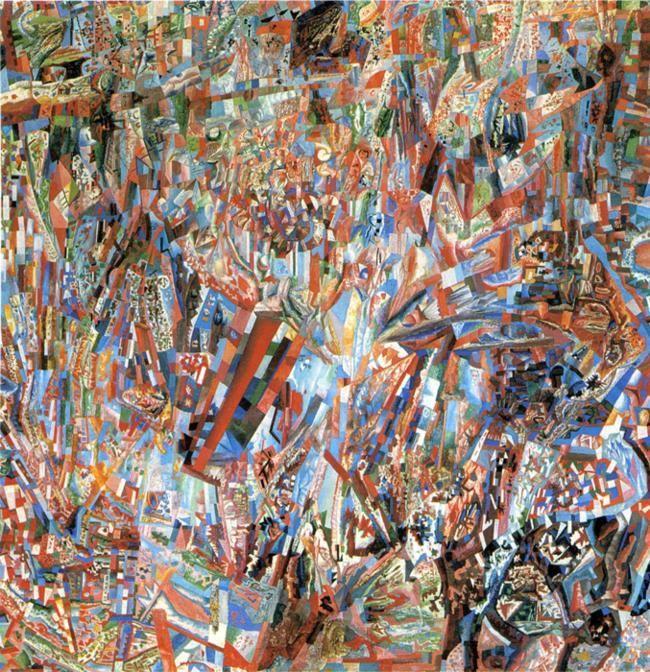 L'art abstrait, plus puissant ?  - Page 2 Filonov44