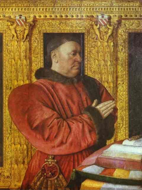 Jean Fouquet. Portrait of Guillaume Jouvenel des Ursins, the Chancellor of Charles VII.