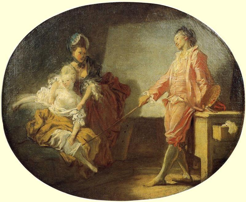 Jean-Honoré Fragonard. The New Model.