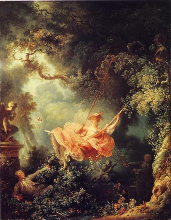 Jean-Honoré Fragonard. The Swing.