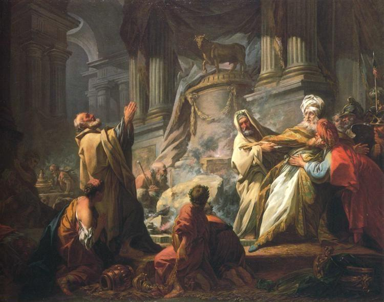 Jean-Honoré Fragonard. Jeroboam Sacrificing to the Idols.