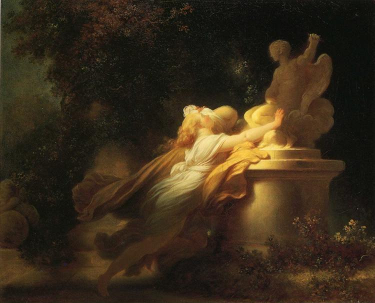 Jean-Honoré Fragonard. The Vow to Love.