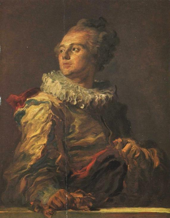 "Jean-Honoré Fragonard. Portrait of a Young Man (""The Actor"")."
