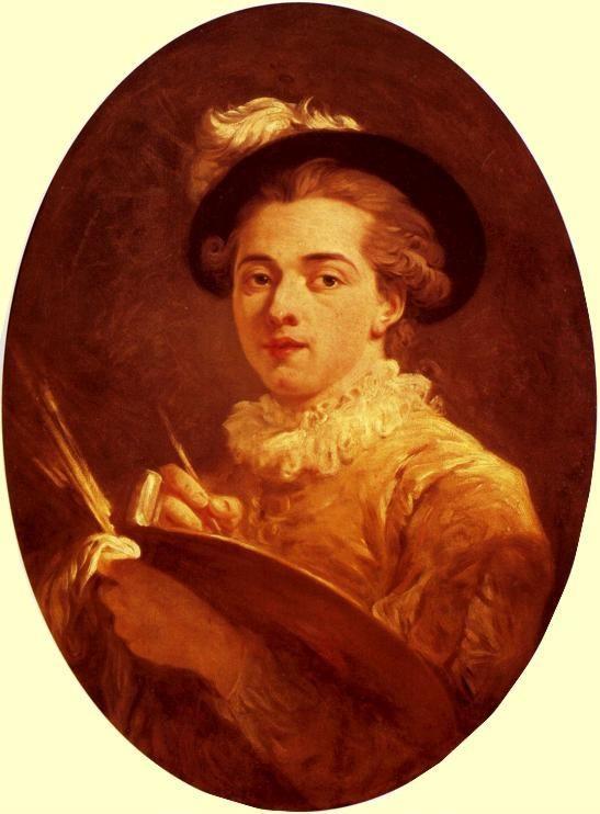 Jean-Honor Fragonard. Self-Portrait. c.1760. Oil on canvas. Muse-Villa ...