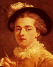 Jean-Honor� Fragonard Portrait