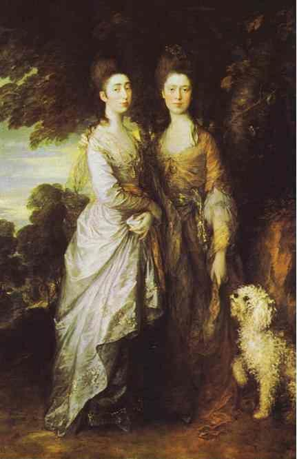 Thomas Gainsborough. The Artist's Daughters.