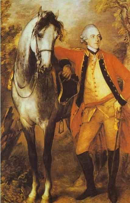Thomas Gainsborough. Edward, 2nd Viscount Ligonier.
