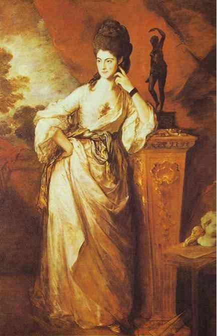 Thomas Gainsborough. Penelope, Viscountess Ligonier.