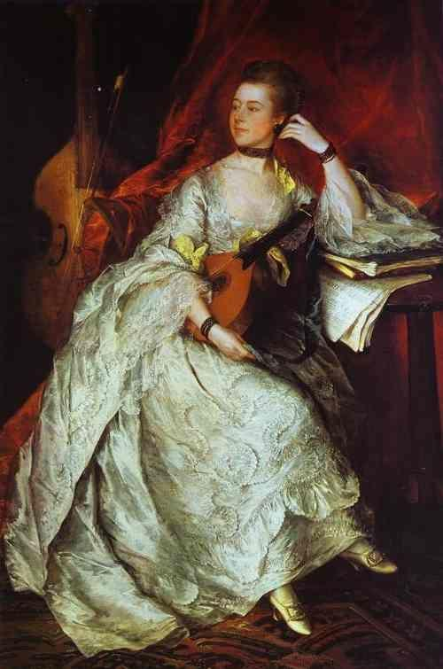 Thomas Gainsborough. Mrs. Philip Thicknesse, nee Anne Ford.