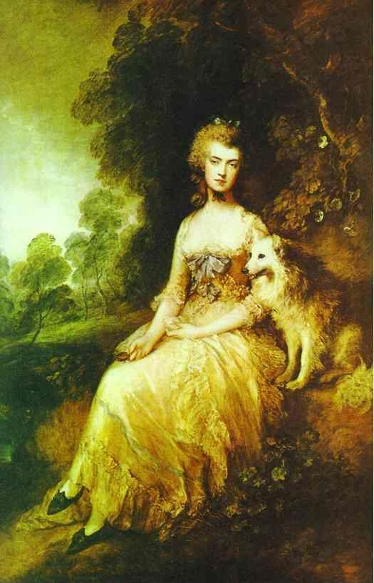 "Thomas Gainsborough. Mrs. ""Perdita"" Robinson."