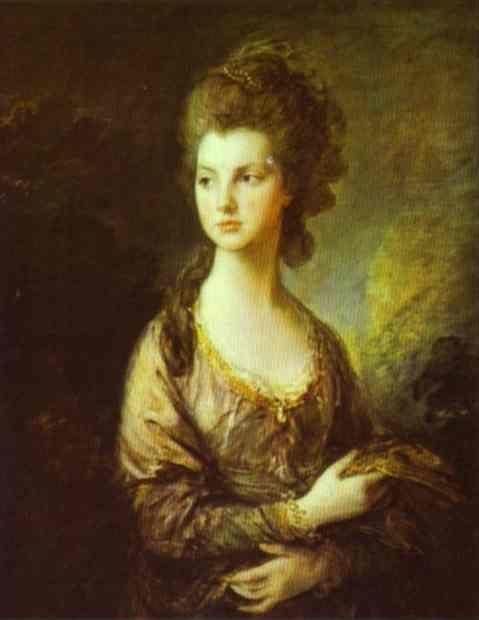 Thomas Gainsborough. The Honorable Mrs. Graham.