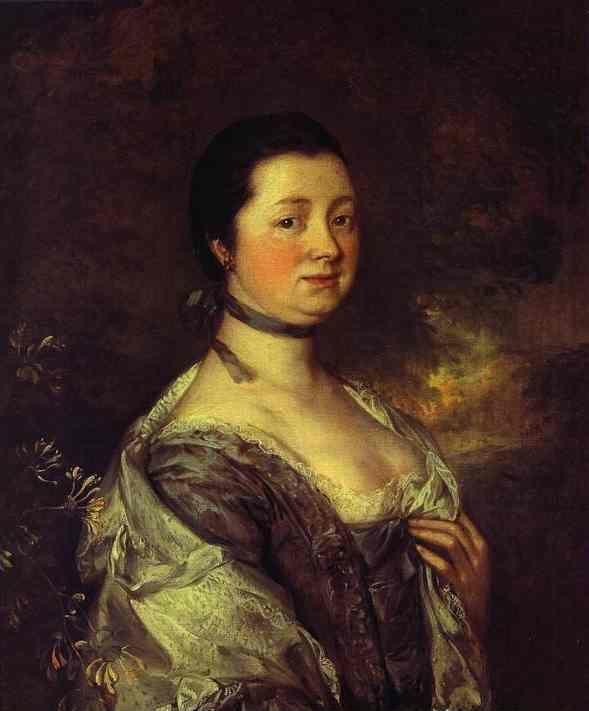 Thomas Gainsborough. The Artist's Wife.