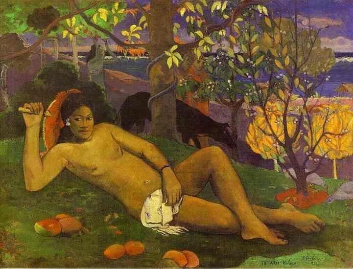 Paul Gauguin. Te arii vahine (The King's Wife).