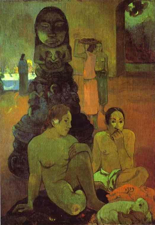 Paul Gauguin. The Great Buddha.