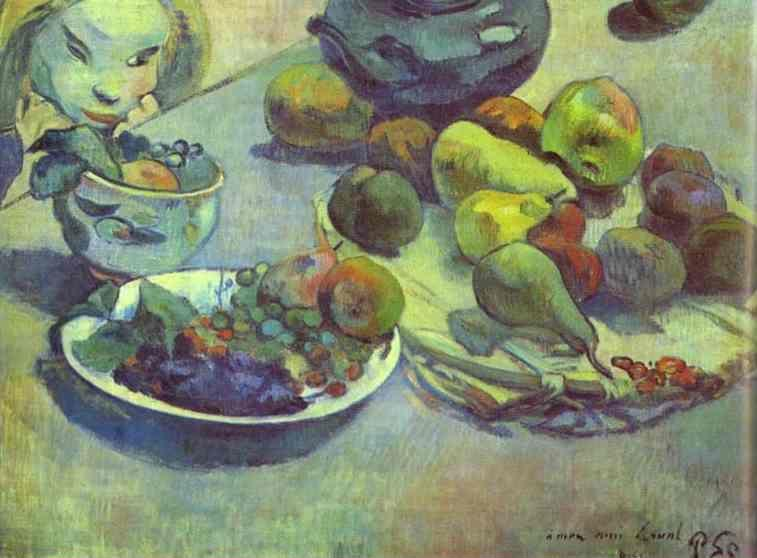 Paul Gauguin. Fruits.