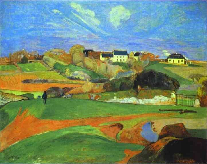 Paul Gauguin. Landscape.