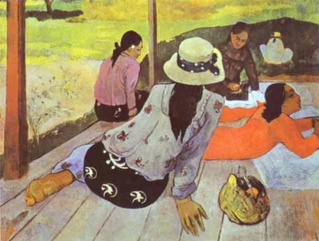 Paul Gauguin. Siesta.