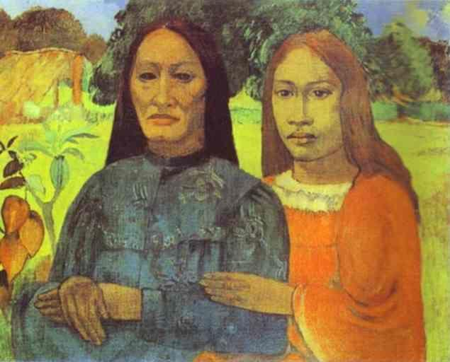 Paul Gauguin. Mother and Daughter.