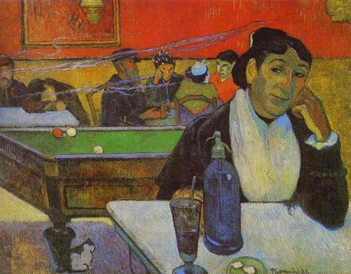 Paul Gauguin. Night Café at Arles.