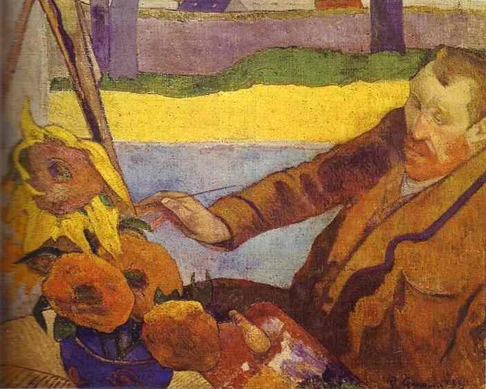 Van Gough Painting Sunflowers. - Olga's Gallery