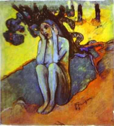 Paul Gauguin. Eve. Don't Listen to the Liar.