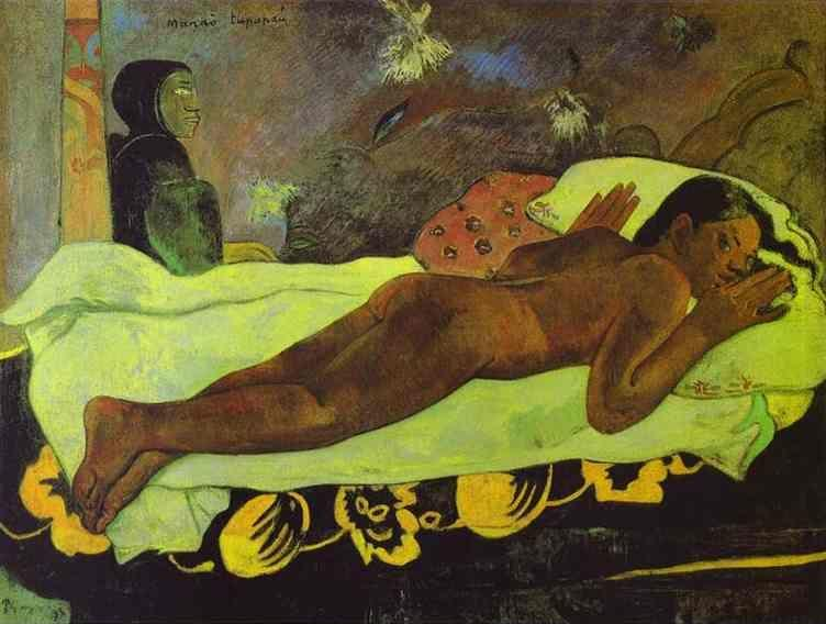 Paul Gauguin. Manao tupapau (The Spirit of the Dead Keep Watch).