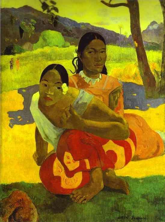 Paul Gauguin. Nafea Faa ipoipo? (When Will You Marry?).