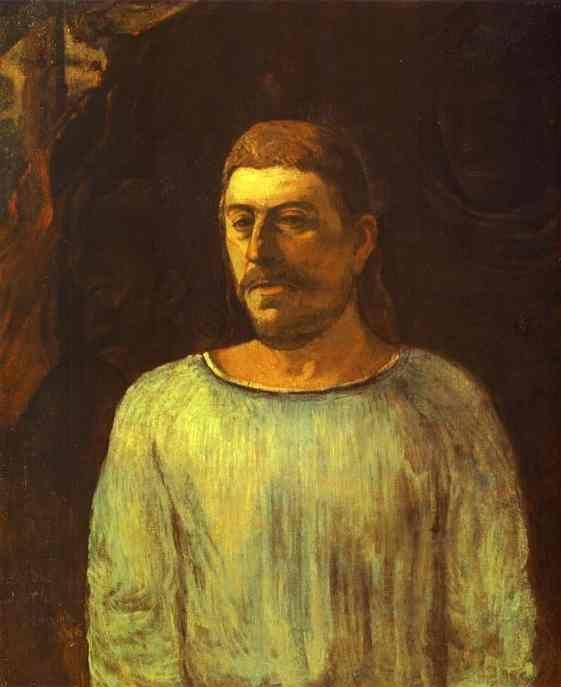 Paul Gauguin. Self-Portrait.